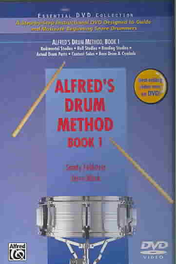 ALFRED'S DRUM METHOD BOOK 1 BY BLACK,DAVE (DVD)