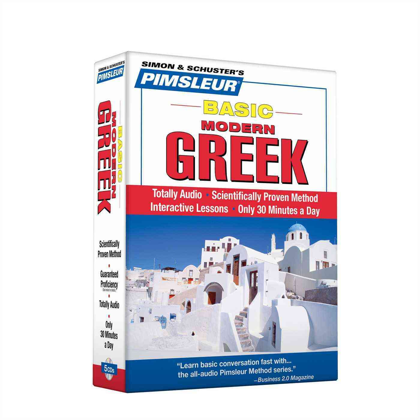[CD] Pimsleur Basic Greek